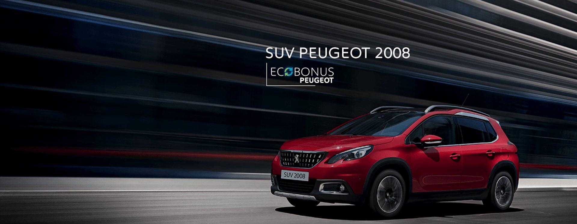 Peugeot 2008 in promozione