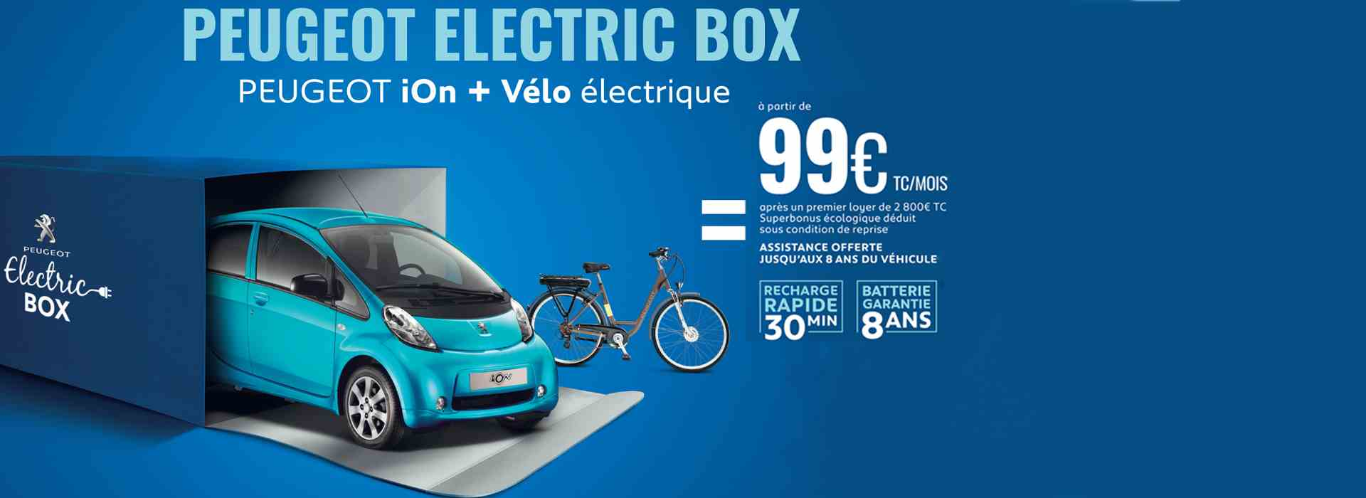 Peugeot Electric Box