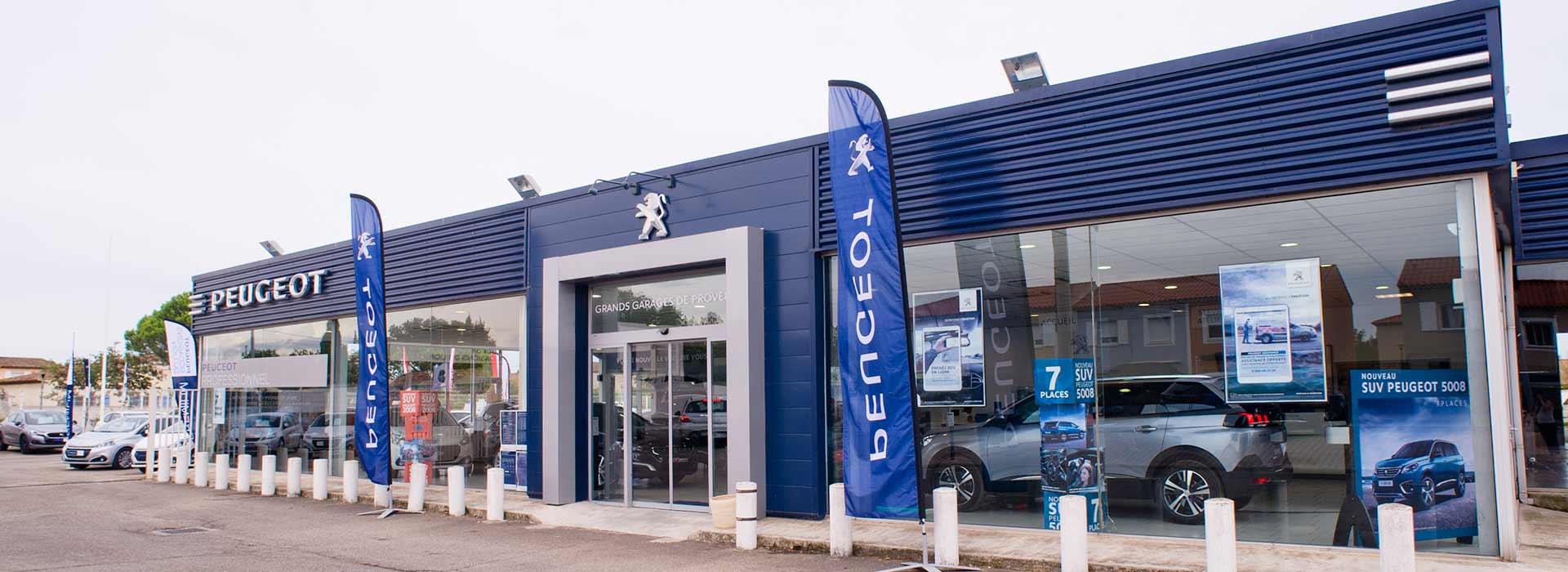 Peugeot salon de provence concessionnaire garage for Garage peugeot istres
