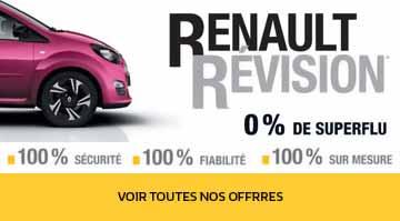 Promotion Entretien Renault