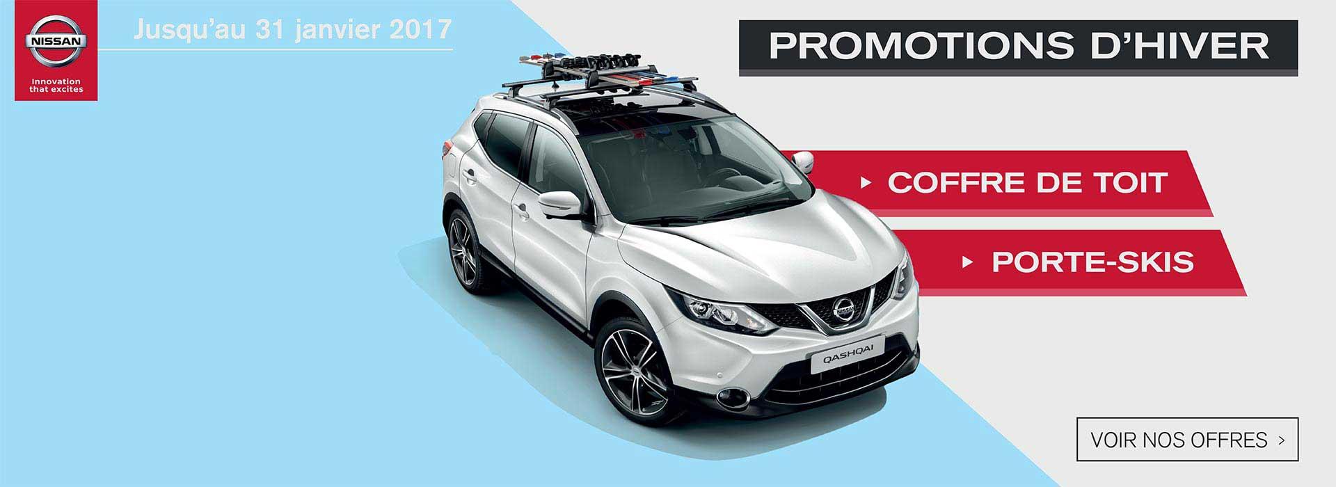 Promotion Accessoire Nissan