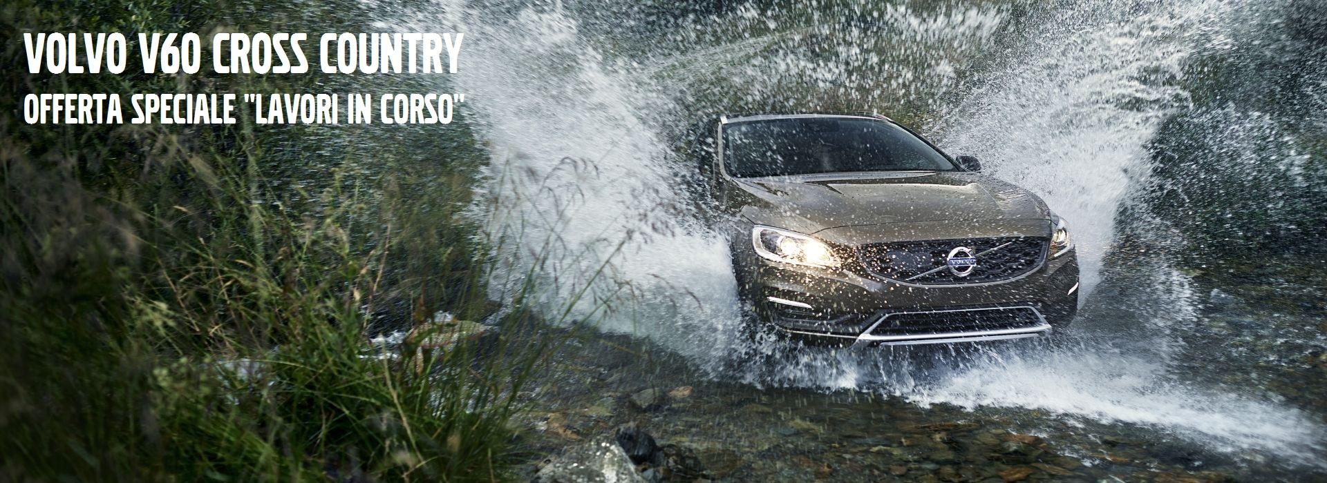 Promozione su Volvo V60 Cross Country in pronta consegna Lineablù