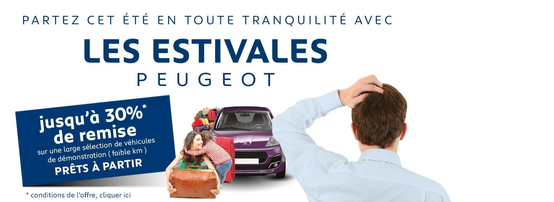 Prêts à partir Peugeot