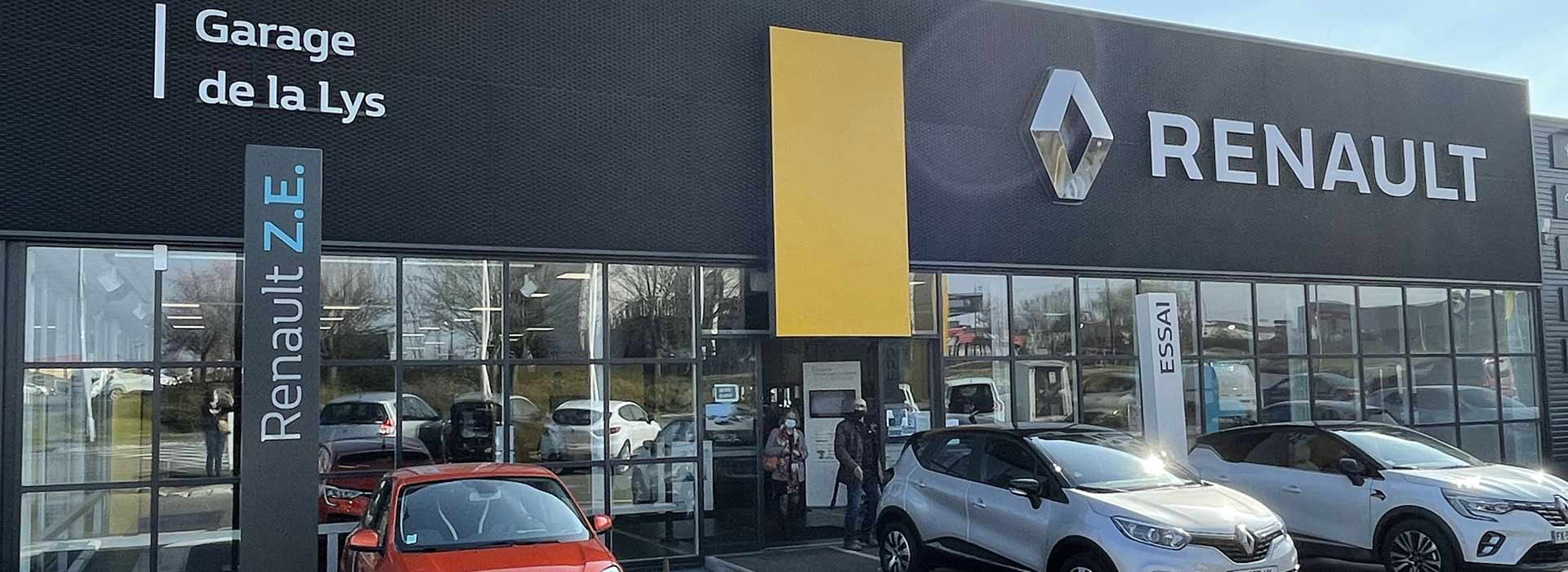 Renault englos concessionnaire garage nord 59 for Garage renault douai horaires