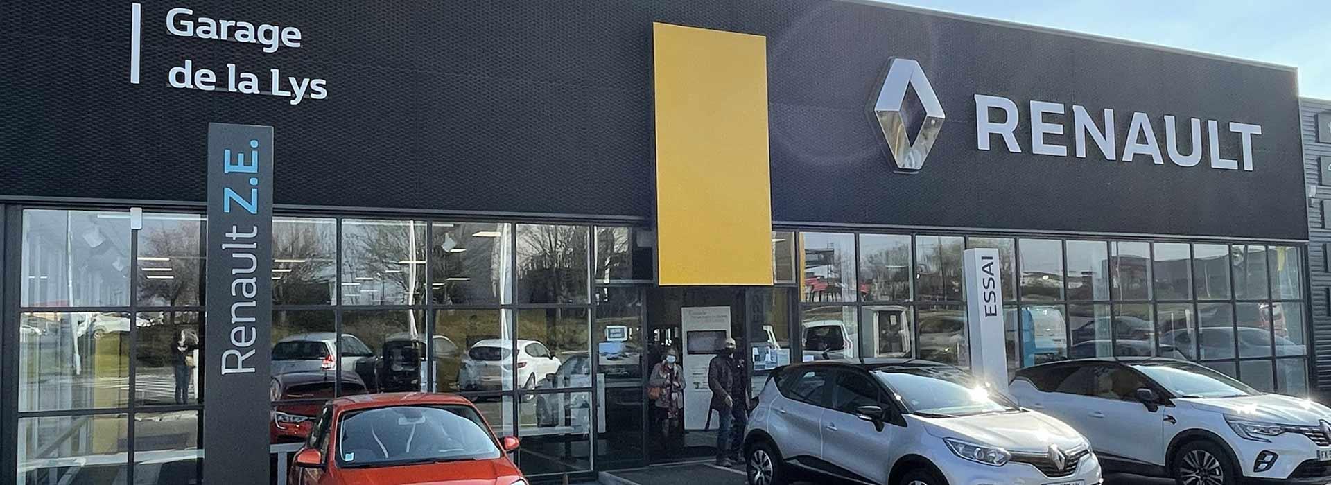 Renault englos concessionnaire garage nord 59 for Garage renault douai horaires