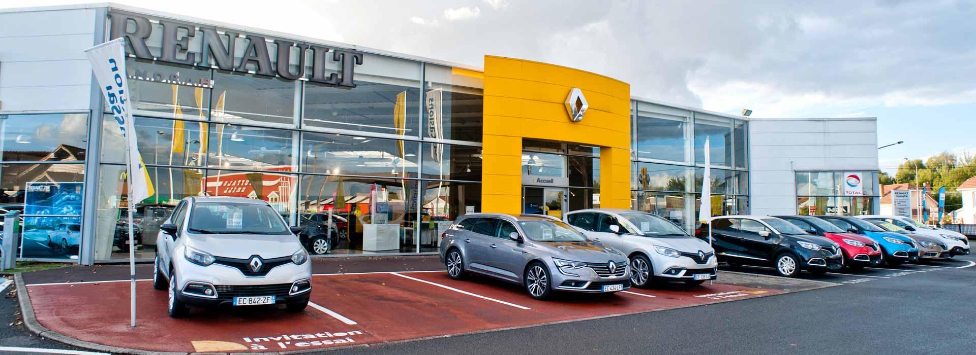 Renault henin beaumont concessionnaire garage pas de for Location garage henin beaumont