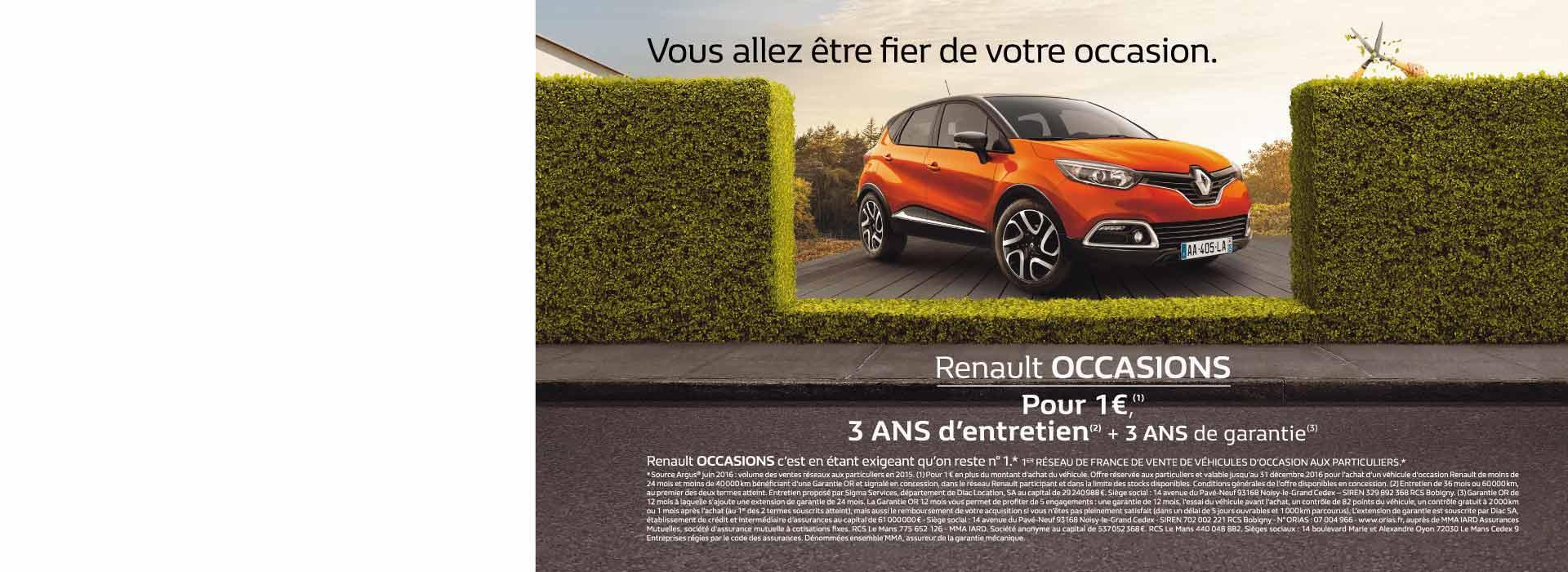 RENAULT OCCASION