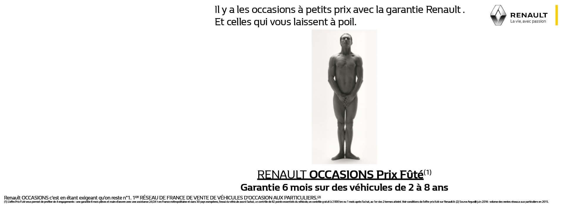 Renault Occasions Prix Fûtés