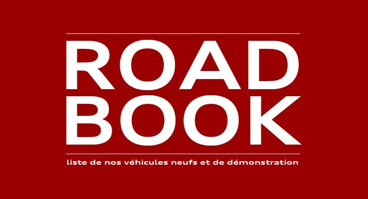 Roadbook - Nos véhicules en stock