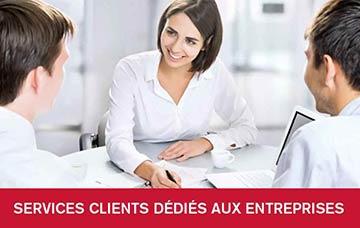 Services Clients Dédiés Aux Entreprises