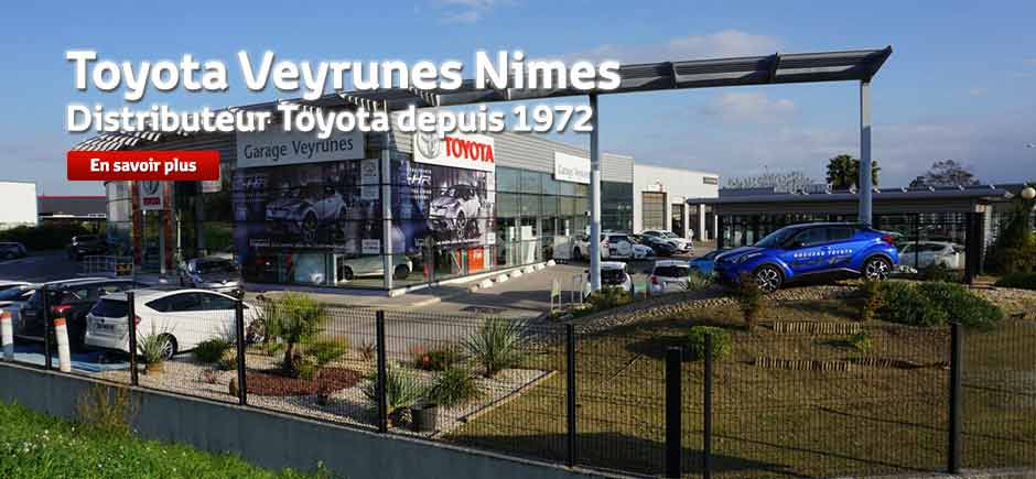 toyota n mes al s garage veyrunes votre concessionnaire voitures neuves et occasion pi ces. Black Bedroom Furniture Sets. Home Design Ideas