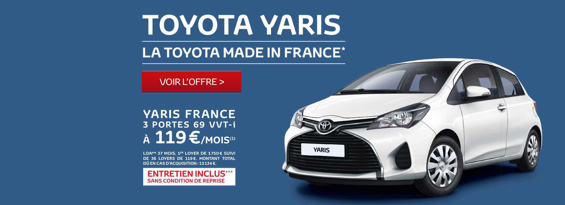 Toyota Yaris France