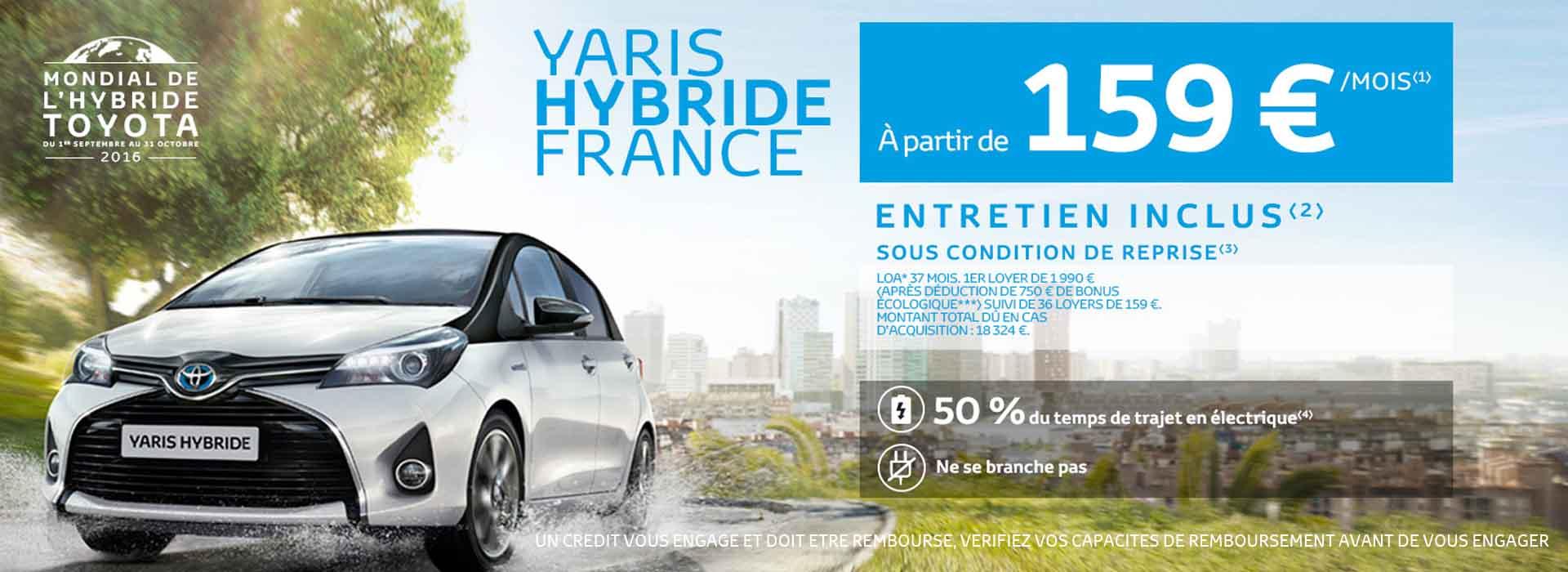 Toyota Yaris Mondial de l'Hybride