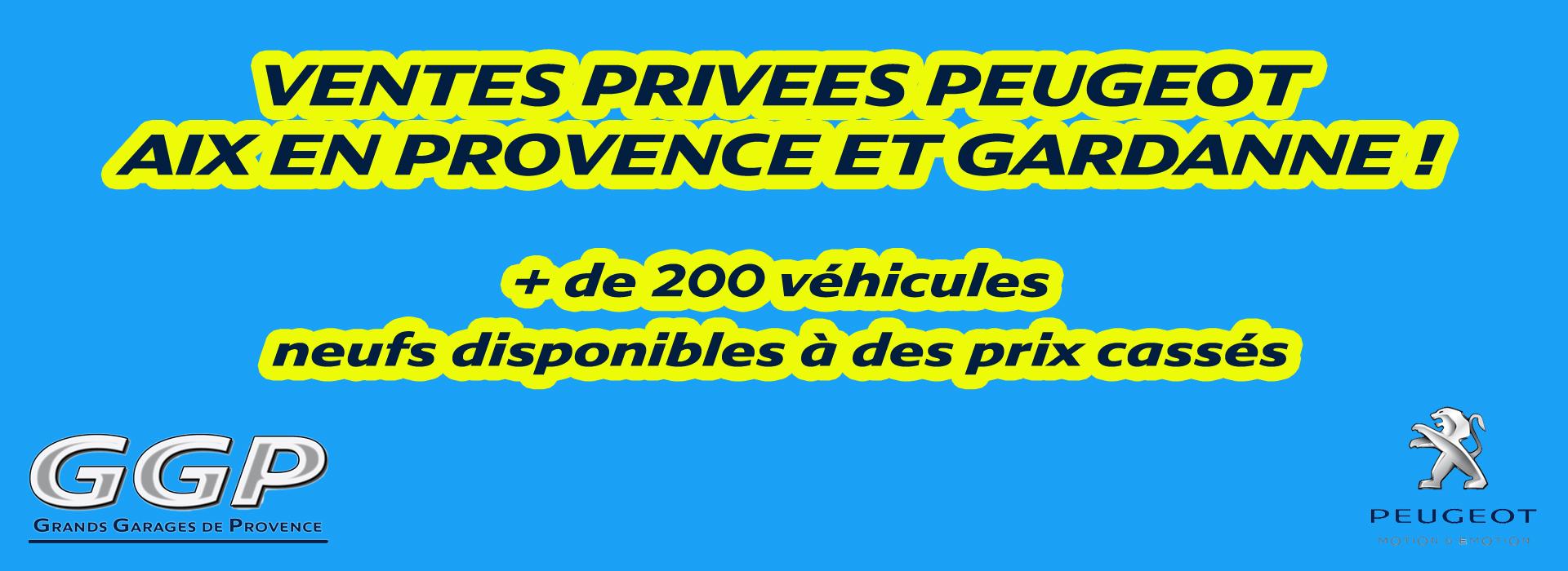 Ventes Privées Peugeot