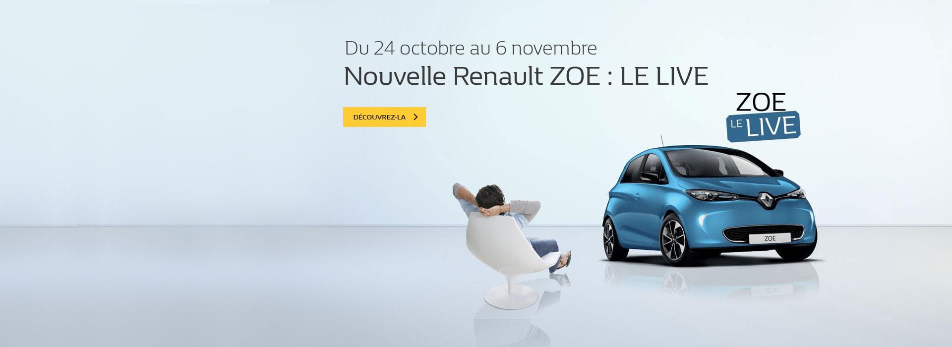 Ne ratez rien du lancement de la Nouvelle Renault ZOE