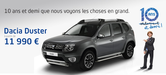 toutes les promos dacia chartres promotions chez votre concessionnaire dacia chartres. Black Bedroom Furniture Sets. Home Design Ideas