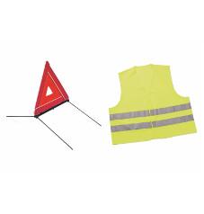 kit triangle de pr signalisation et gilet de s curit promotions chez votre concessionnaire. Black Bedroom Furniture Sets. Home Design Ideas