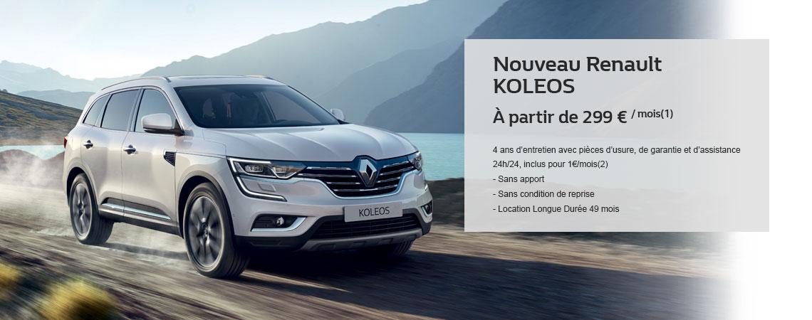 Promotion voiture renault neuve bethune for Argus koleos