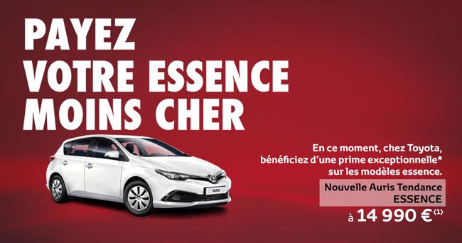 Nouvelle Toyota Auris Tendance Essence À partir de 14 990 €*