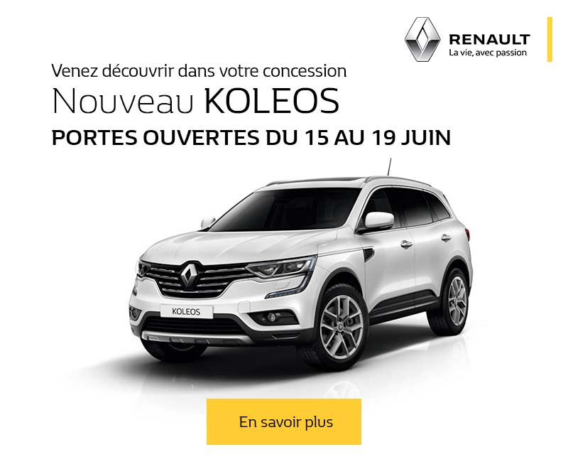 portes ouvertes promotions chez votre concessionnaire renault nanterre arago. Black Bedroom Furniture Sets. Home Design Ideas