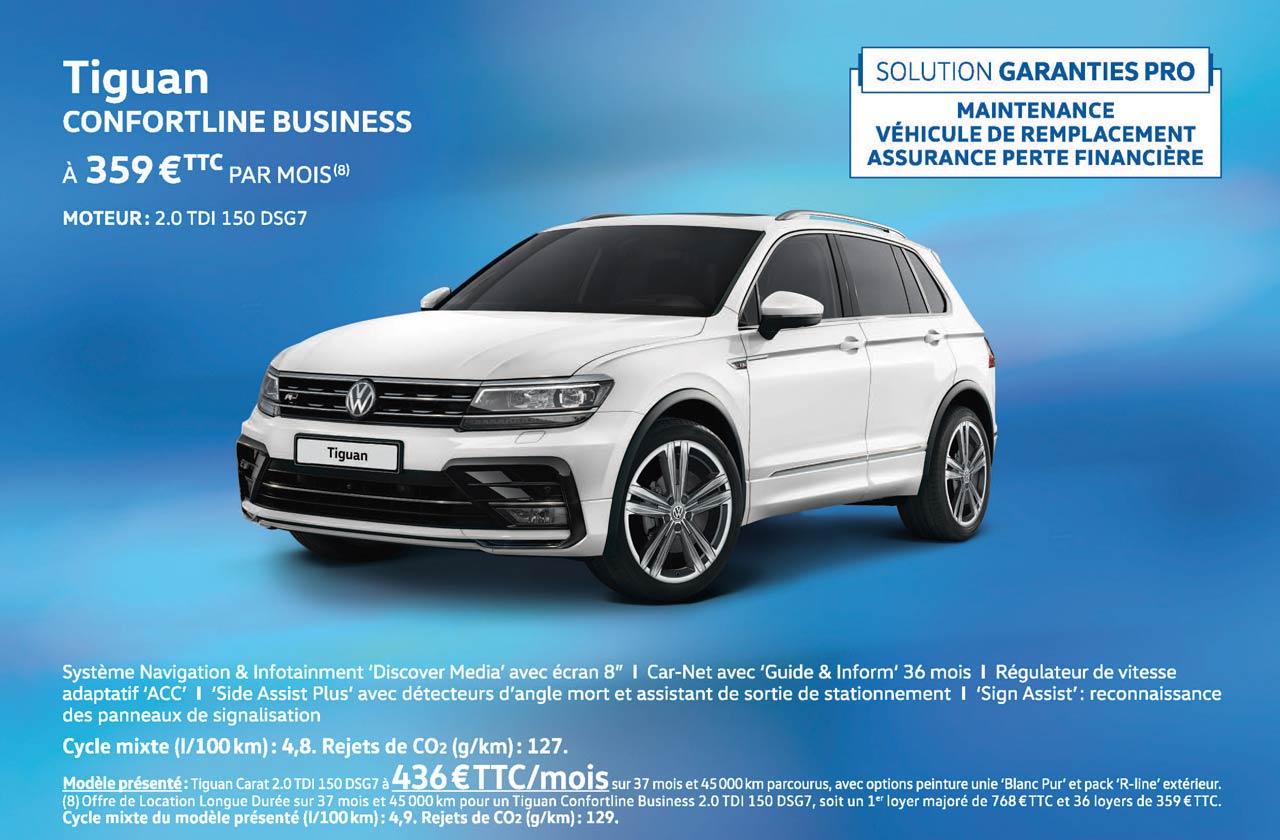 Promotions entreprises volkswagen valenton valenton for Tiguan confortline business