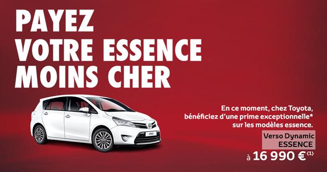 Toyota Verso Dynamic Essence À partir de 16 990 €*