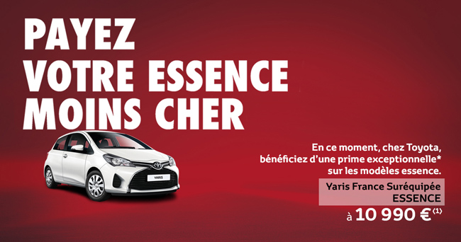 Toyota Yaris France Suréquipée Essence À 10 990 €*