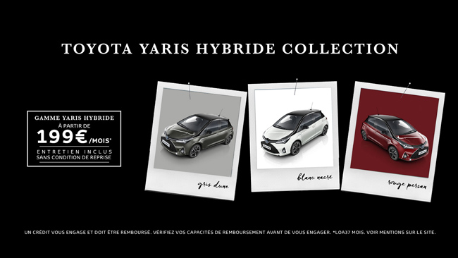 Toyota Yaris Hybride Collection À partir de 199€/mois*