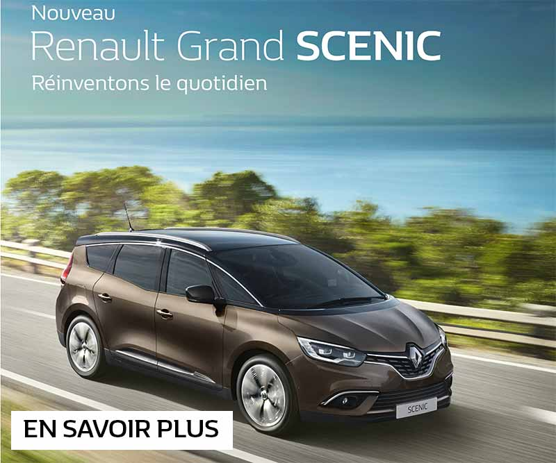 nouveau renault grand scenic renault mantes la ville. Black Bedroom Furniture Sets. Home Design Ideas