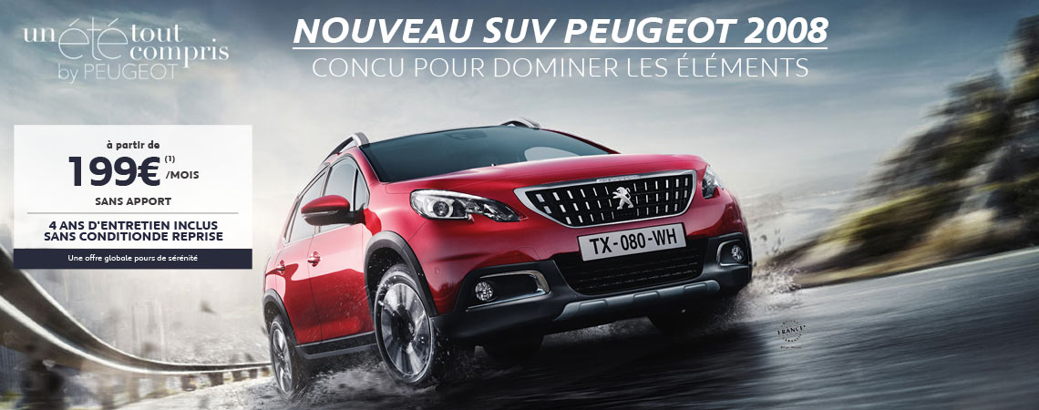 nouveau suv 2008 peugeot la teste de buch. Black Bedroom Furniture Sets. Home Design Ideas