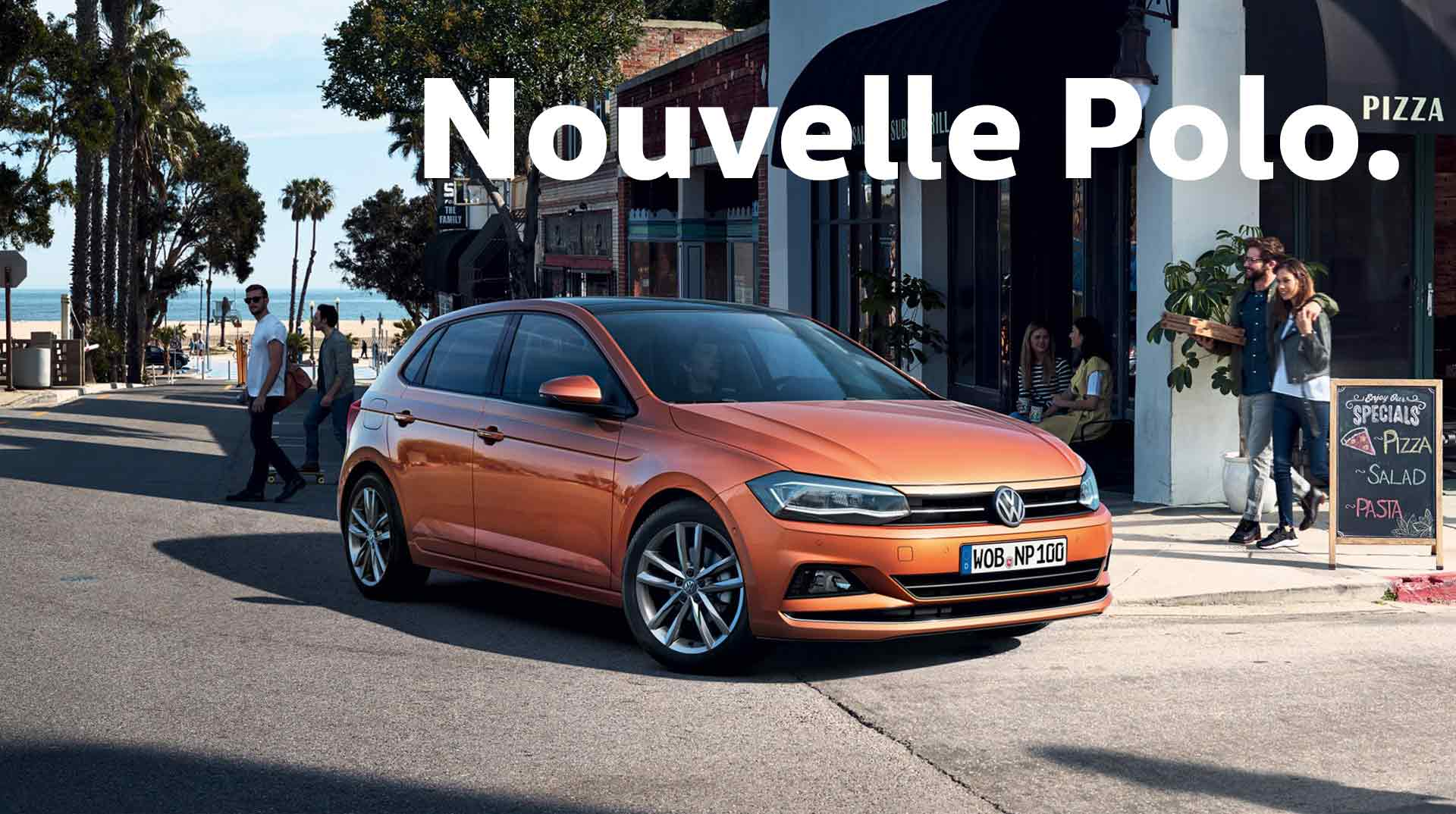 Nouvelle polo volkswagen valenton for Interieur nouvelle polo