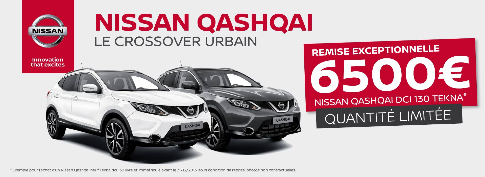 offre nissan qashqai nissan lille. Black Bedroom Furniture Sets. Home Design Ideas