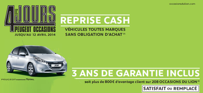Peugeot occasions reprise cash groupe metin for Garage peugeot metin nemours