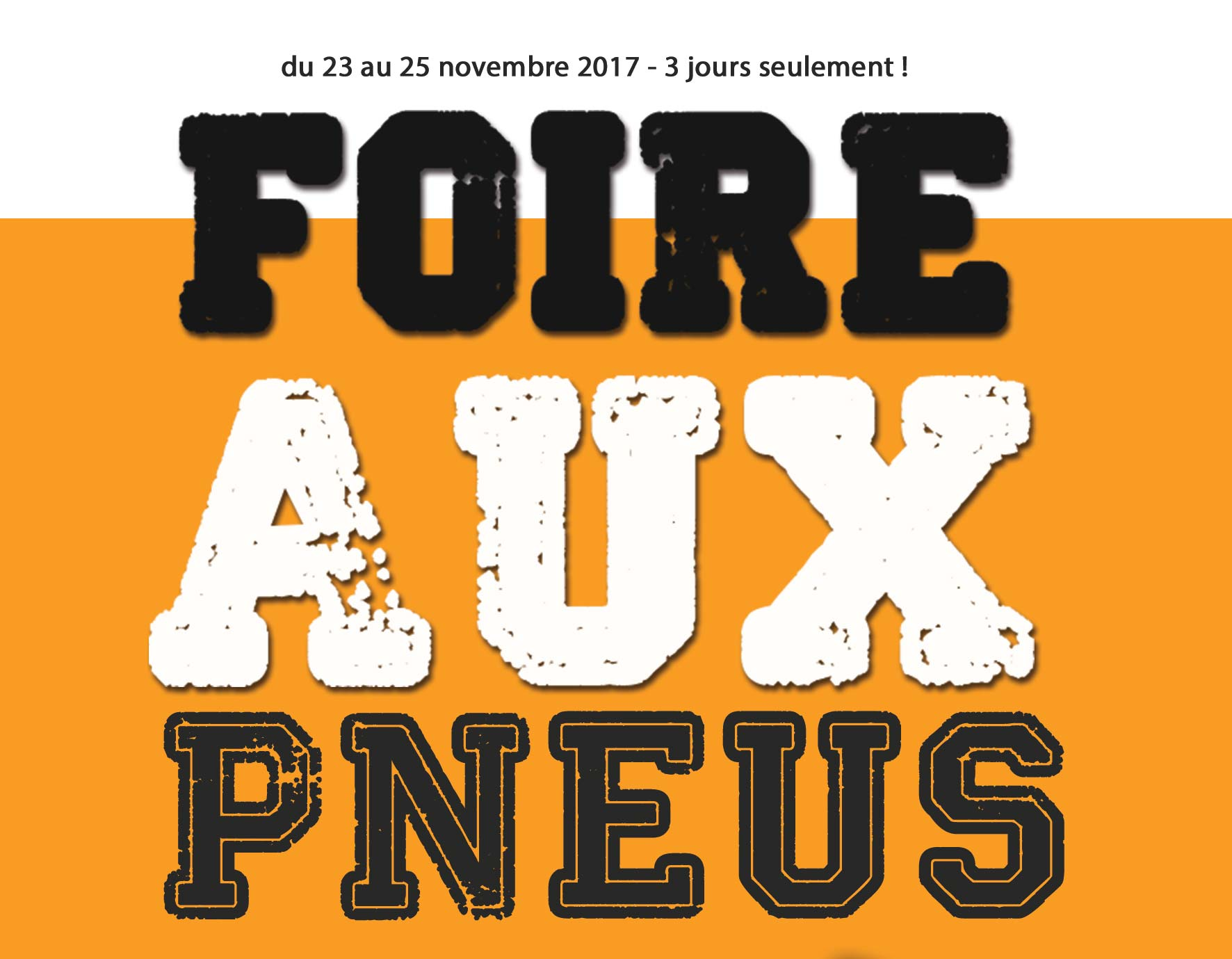 foire aux pneus du 23 au 25 novembre 2017 renault maintenon maintenon. Black Bedroom Furniture Sets. Home Design Ideas