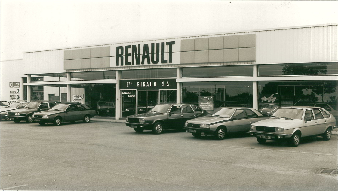 historique renault ch teaudun etablissements giraud renault chateaudun chateaudun. Black Bedroom Furniture Sets. Home Design Ideas