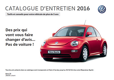 catalogues forfait entretien 2016 volkswagen chartres luisant. Black Bedroom Furniture Sets. Home Design Ideas